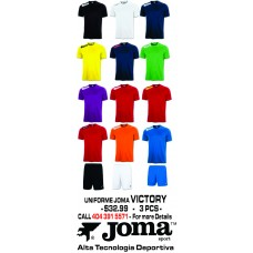 VICTORY JOMA UNIFORM  12 COLORS AVAILABLE